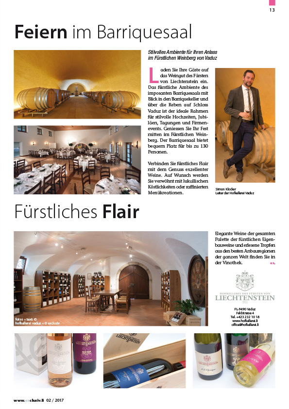 Exclusiv > Magazin > Archiv Magazine 2002 - 2018 > 2017 > exclusiv ...