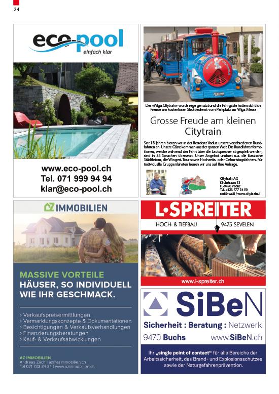 28.02.2020 - Bauwesen | Der Rat informiert | Gemeinde Sevelen